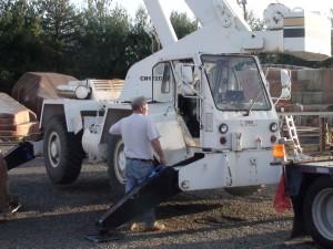 22 ton P&F Crane