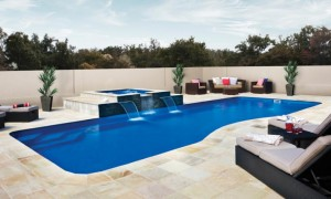 Moroccan Fiberglass Pool